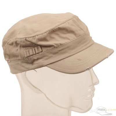 Washed Cotton Fitted Army Cap-Khaki - Buy Washed Cotton Fitted Army Cap-Khaki - Purchase Washed Cotton Fitted Army Cap-Khaki (E4hats, E4hats Hats, Womens E4hats Hats, Apparel, Departments, Accessories, Women's Accessories, Hats)