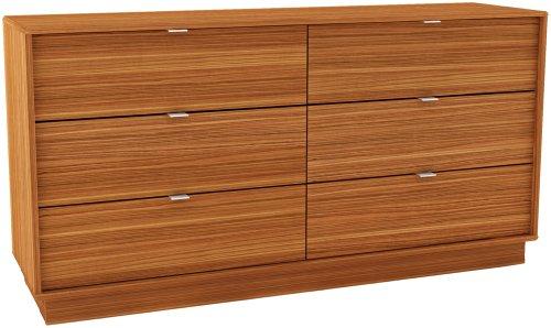 Sonax DW-1006 Manning Six Drawer Dresser in Eternity Walnut