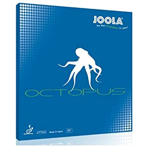 JOOLA Octopus Table Tennis Rubber (Red, 0.5
