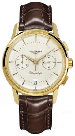 NEW LONGINES HERITAGE COLLECTION FLAGSHIP MENS WATCH L4.756.6.72.9