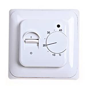 digital thermostat temperaturregler raumthermostat. Black Bedroom Furniture Sets. Home Design Ideas