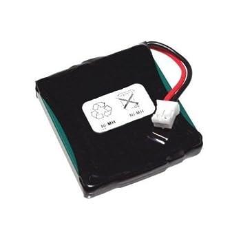 Power Batterie pour Siemens gigaset E45 E450 E455 , 2,4 V, 650 mAh, NiMH, haute performance, Ni-MH, Nickel Metal Hydride, Accumulateur, Battery, téléphone sans fil, mobiles