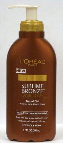 L'Oréal Paris Sublime Bronze One-Day Gel