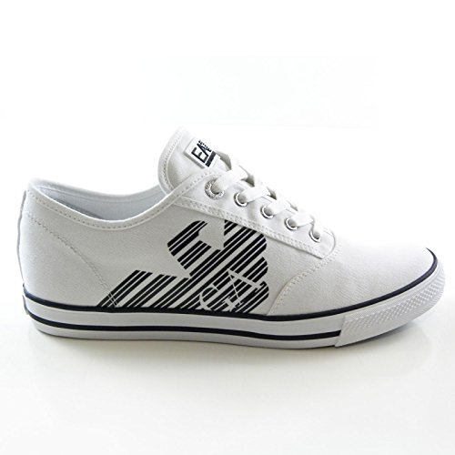 scarpe EA7 BASSE B/CO/BLU