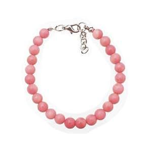 Armband aus rosa Korallen Perle 7mm