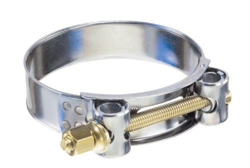 Kuriyama TBC-SSC226 Heavy Duty T-Bolt Clamp, 304 Stainless Steel Band, Carbon Steel Bolt and Nut, 8-21/32