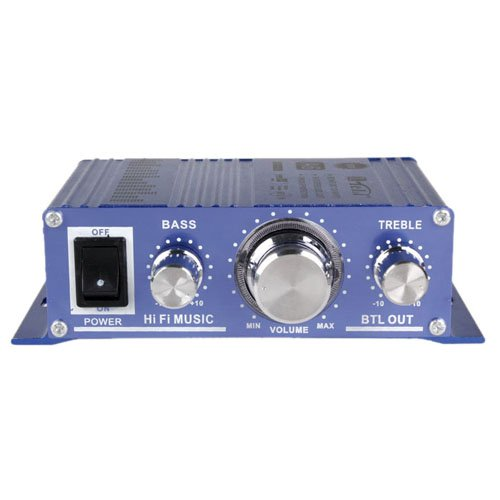 Enjoydeal 12V Dc Mini Hi Fi Music Audio Stereo Amplifier For Cars Motorcycle Boat Home Mp3 Cd Usage