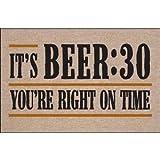 It's Beer:30 Doormat