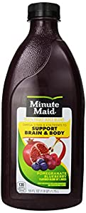 Minute Maid Pomegranate Blueberry Enhanced Juice with Omega-3 & DHA
