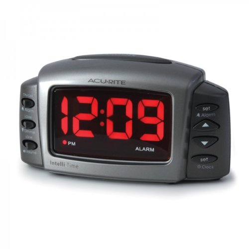Acurite Intelli 13030 Digital Time Alarm Led Clock