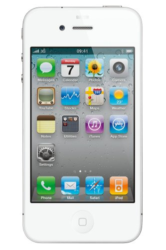 Apple Iphone 4 8Gb, White, For Straight Talk, No Contract, Use Verizon'S Network