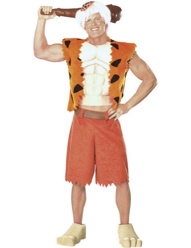 Adult-Costume Adult Bamm Bamm Xl Halloween Costume - Adult Extra Large