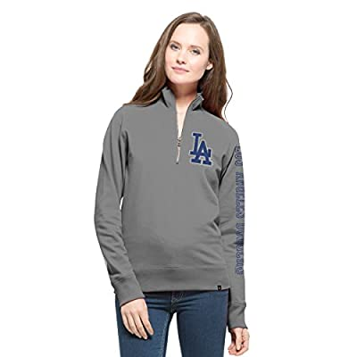 MLB Women's '47 Shimmer Cross-Check 1/4-Zip Pullover Jacket