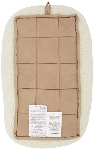AmazonBasics-Padded-Pet-Bolster-Bed