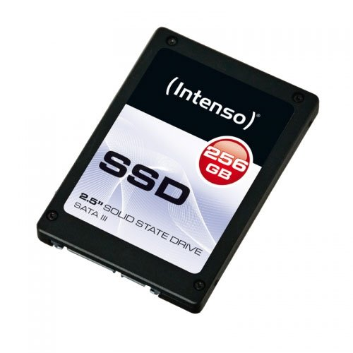Intenso 3812440 SSD da 256 GB, SATA 3, Nero
