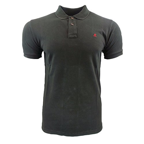Replay Base Polo S Blk Brd