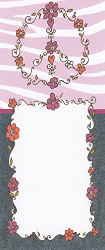 Purple & Lilac Floral Peace & Love Set of 10 Printable Invitations & Envelopes - 1