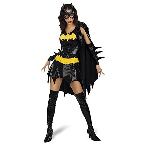 Rubies Secret Wishes 888440 Womens Batgirl Black - Four Sizes from 6 to 16