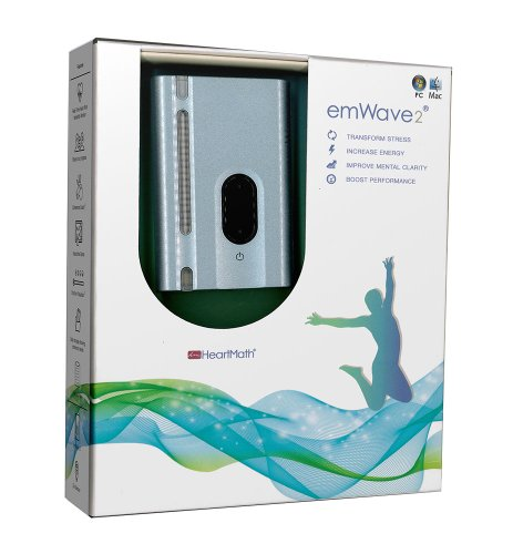 HeartMath emWave 2, Silver Blue (Neurofeedback Machine compare prices)