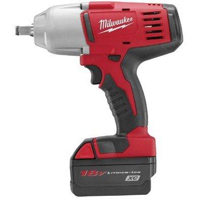 "Milwaukee Electric Tools - M18 High Torque Impact Wrenches M18 1/2"" High Torque Impact Wrench: 495-2663-22"