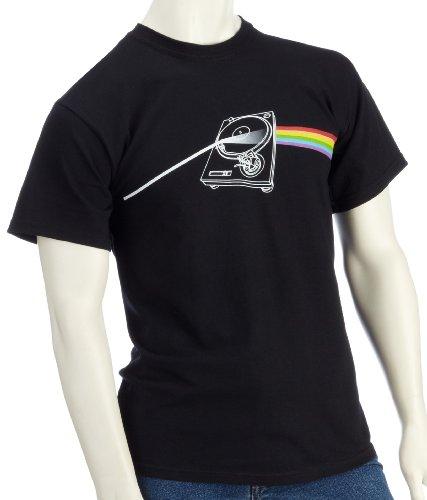 DMC Technics Deckside Of The Mix Mens Black T-Shirt Small