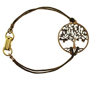 Small Peace Bronze Tree of Life Bracelet