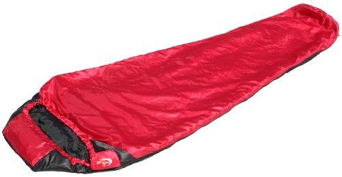 SnugPak Travelpak Lite, Red/Black, RH Zip SP92550