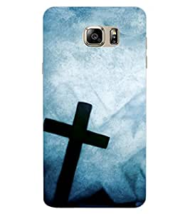 ColourCraft Jesus Cross Design Back Case Cover for SAMSUNG GALAXY NOTE 7