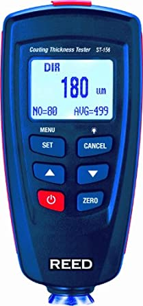 Reed ST-156 Coating Thickness Gauge, 0 to 1250 Micrometer Range