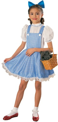The Wizard of Oz Dorothy Deluxe Childs Costume - Size Small