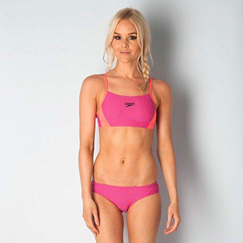 Speedo Monogram Allover 2 Piece Swimsuit