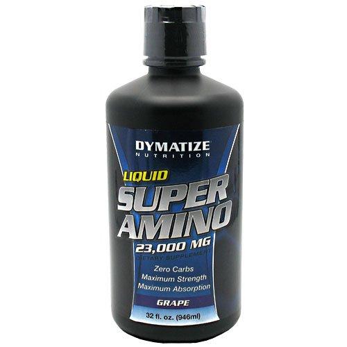 Super Amino 23000 Mg - Maximum Strength Amino Acid Liquid Grape 32 Oz