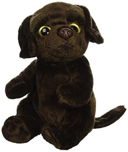 """Ganz 6.5"""" Chocolate Labrador Retriever Plush Toy"""
