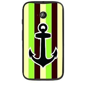 Skin4gadgets Anchor in beautiful Neapolitan Pattern 12 Phone Skin for MOTO E2