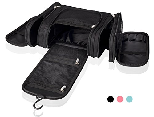 Cosmetic Travel Toiletry bag Premium Quality Hanging Makeup Organizer Mr.Sleek (Disney Frozen Rain Gear compare prices)