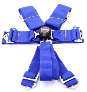 Nrg Innovations Sbh-6Pcbl Cam Lock Seat Belt Harnesses front-826791