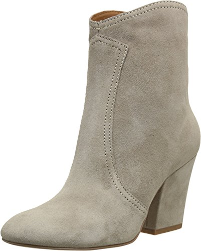 Nine West Women'S Dashiell Suede Boot,Taupe Suede,8 M Us
