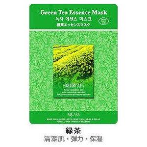 MJーCAREエッセンスマスク 緑茶10枚セット