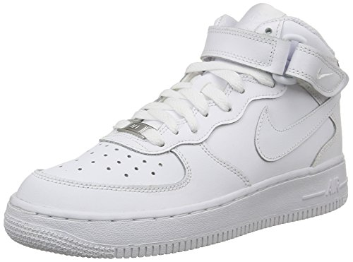 Nike Air Force 1 Mid (GS) Schuhe white-white - 38