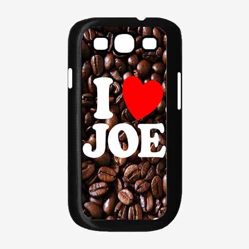 I Love Joe- Plastic Phone Case Back Cover Samsung Galaxy S3 I9300