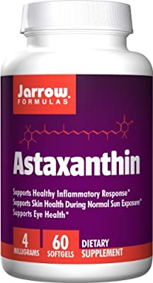 Jarrow Formulas Astaxanthin, 4 milligrams, 60 Softgels from Jarrow Formulas