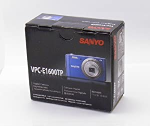 "Sanyo Digital Camera w/ 5x Optical Zoom, 14 MegaPixel , 3"" LCD Display , Movie Rocording - Blue Color"