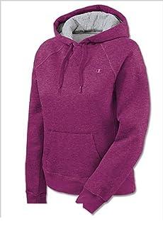 Champion Women's Eco Fleece Hoodie, Oxford Gray, X-Large