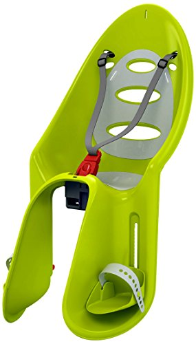 Peg Perego Eggy Lime Green/Grey Rear Mount Child Seat front-981663