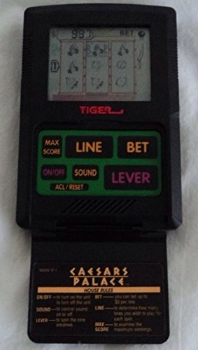 Vintage Ceasars Palace SLOTS Electronic Talking Handheld Game (1993) - 1