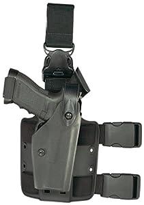 Safariland 6005 Black SLS Hood Quick Release Leg Harness Glock 17, 22 Tactical Gun Holster