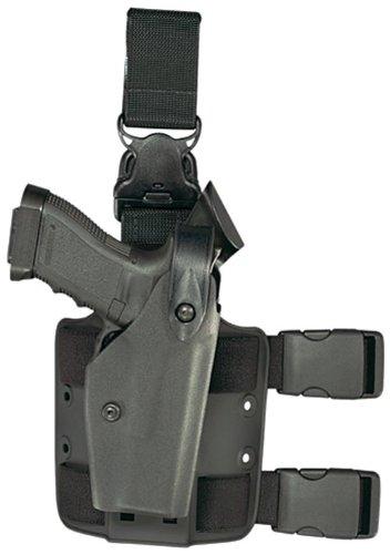 Safariland 6005 Black Beretta 92, 96 SLS Hood Quick Release Leg Harness Tactical Gun Holster by Safariland