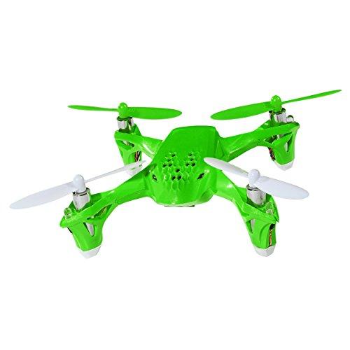 Hubsan H108 2.4G 4CH RC Quadcopter GREEN includes Bonus Black Rubber