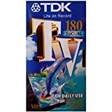 TDK – 180 High grade VHS Tape – Blank Video Tape [VHS Tape]