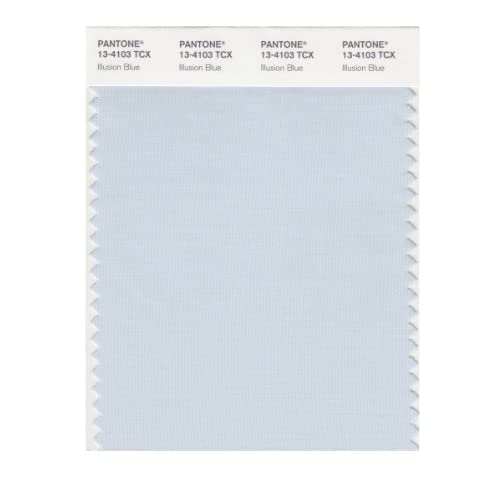 PANTONE SMART 13-4103X Color Swatch Card, Illusion Blue - Wall Decor